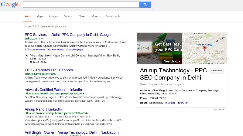 Rank site in google