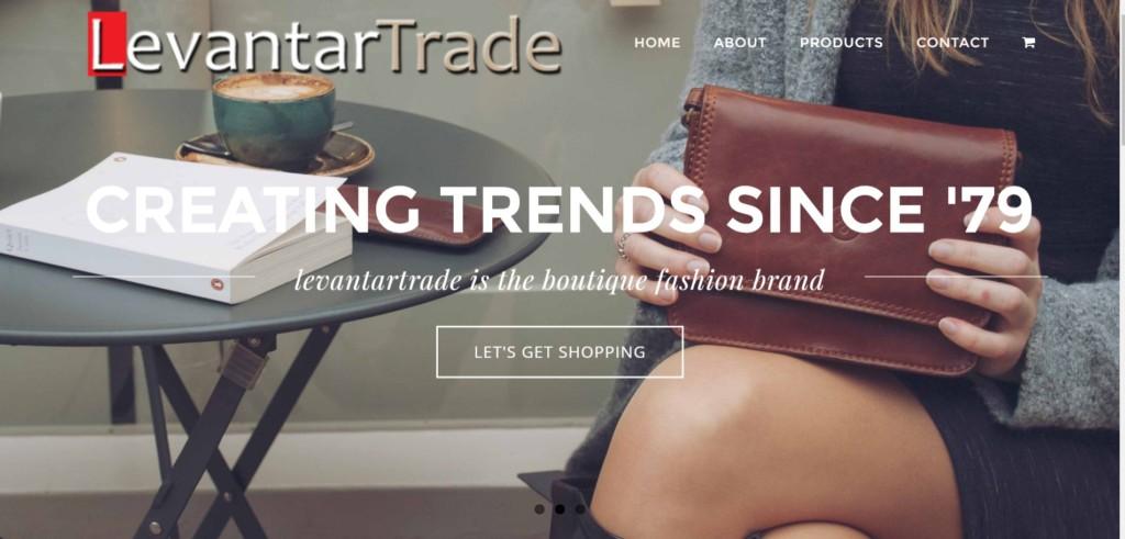 levanter-trade-website