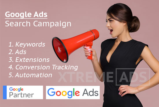 Google Adwords search ads