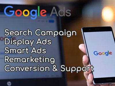 Advance Google ads setup