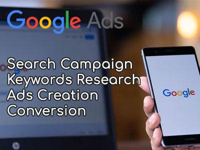 Google search Ads setup