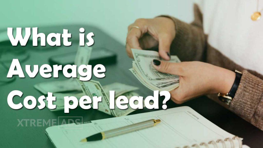 Cost per lead in india
